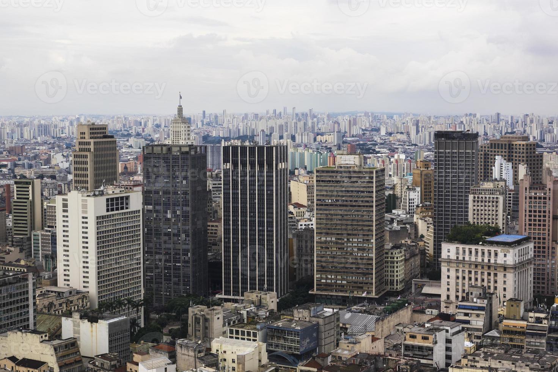paisagem urbana de são paulo, brasil foto