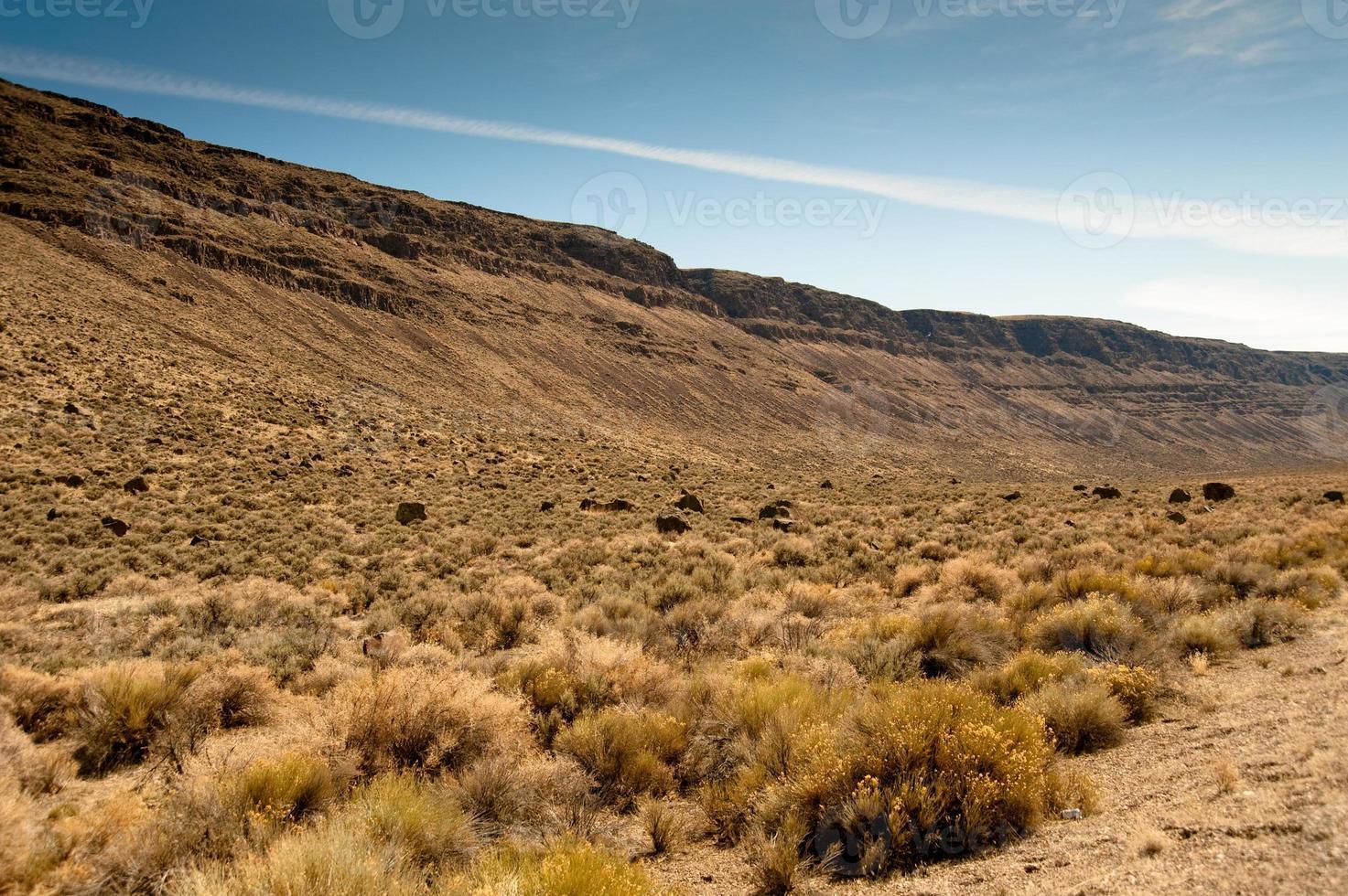 butte alto do deserto foto