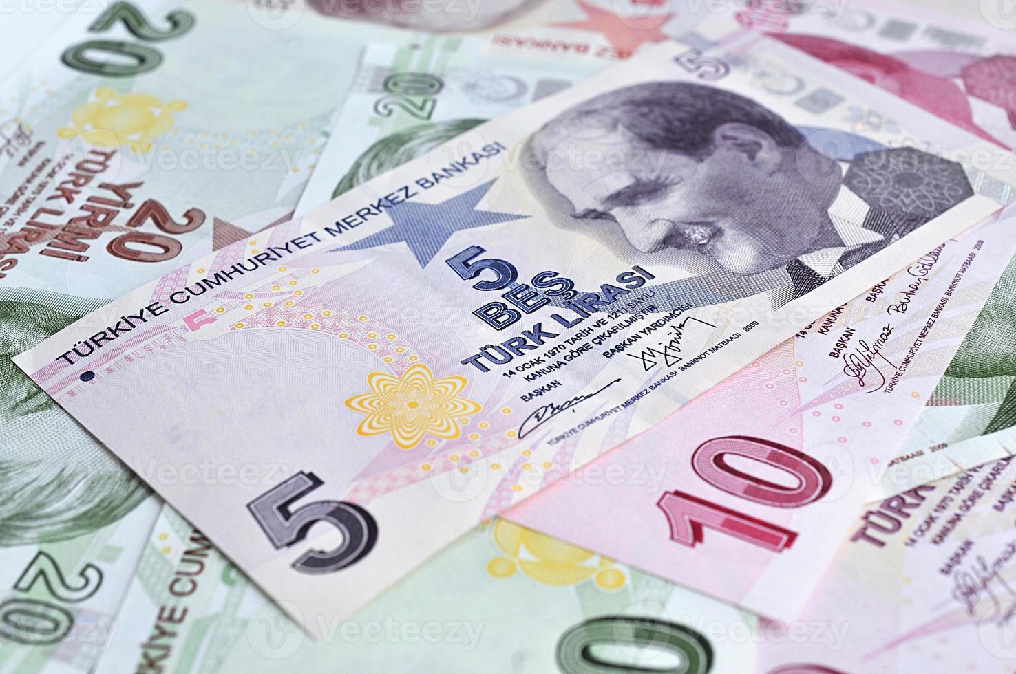 lira turca foto