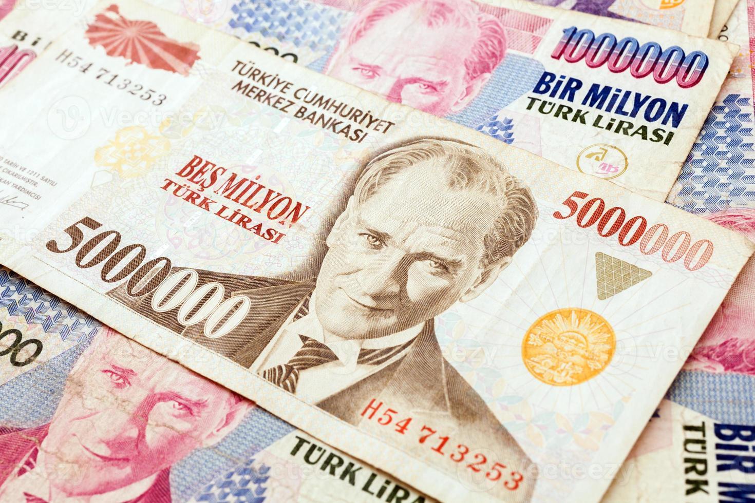 moeda turca foto