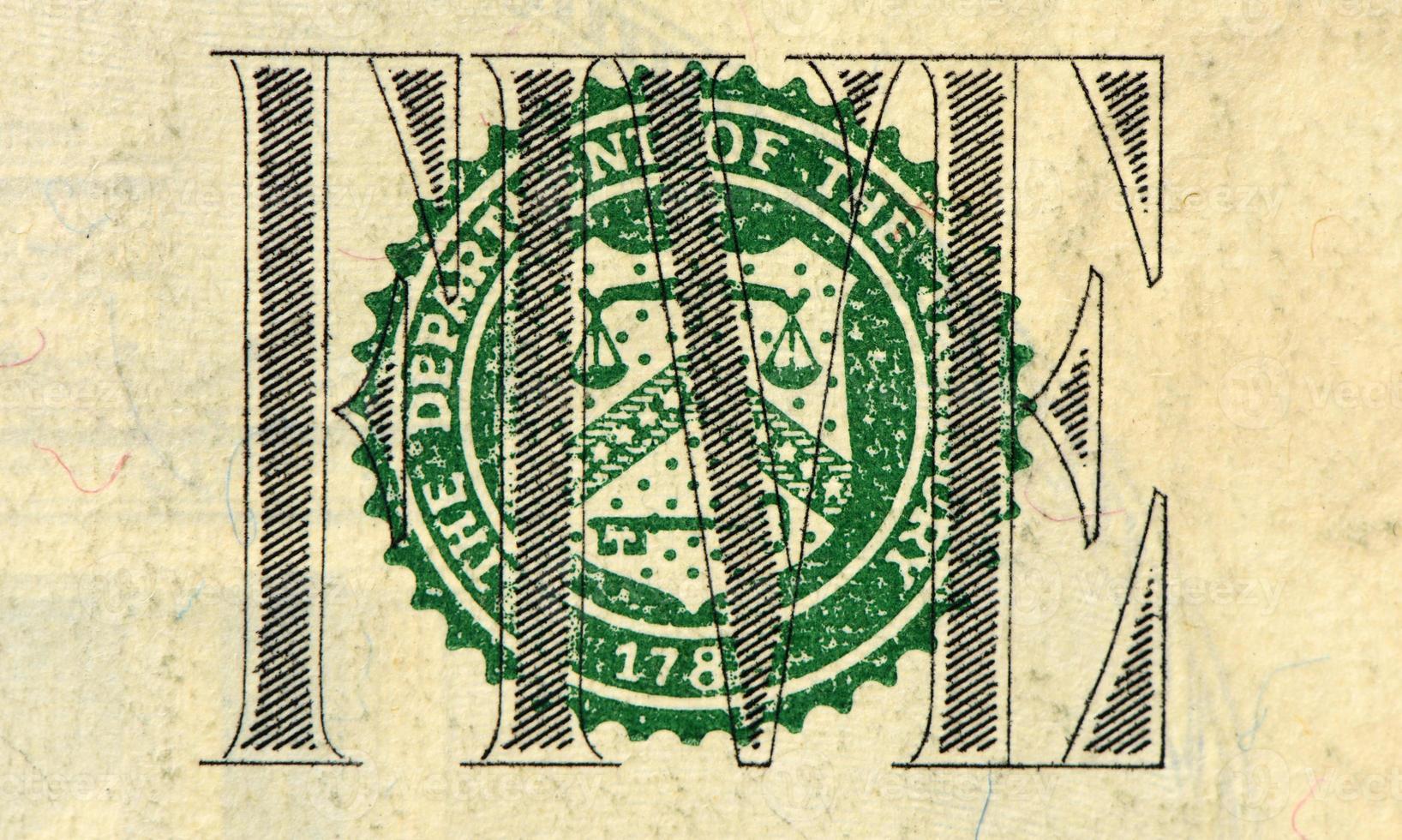 nota de dólar foto