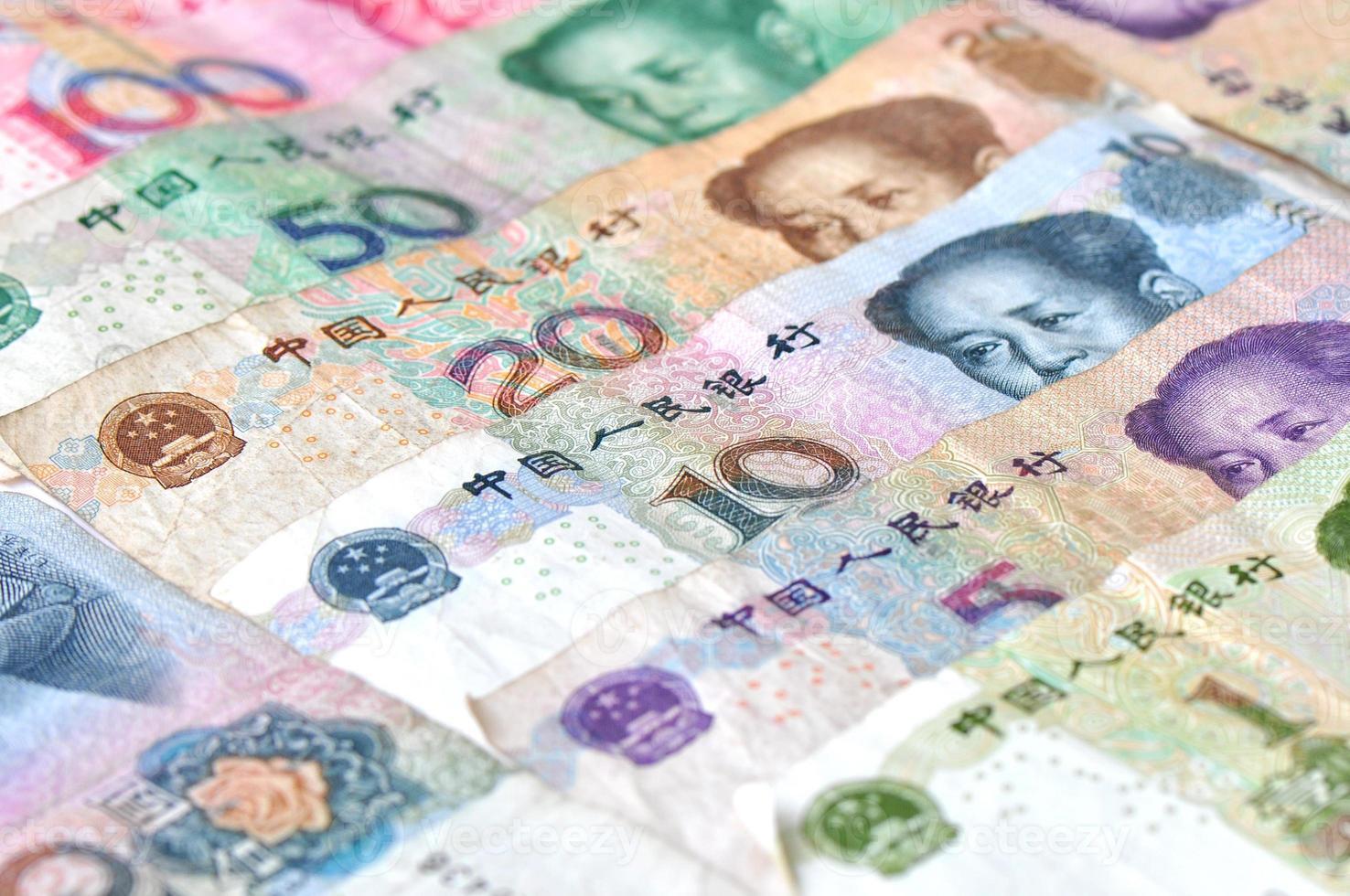 moeda chinesa foto