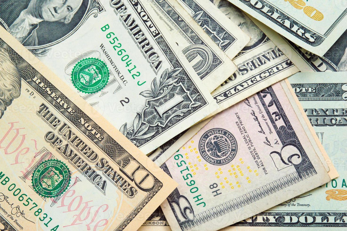 dólares dos estados unidos vários foto