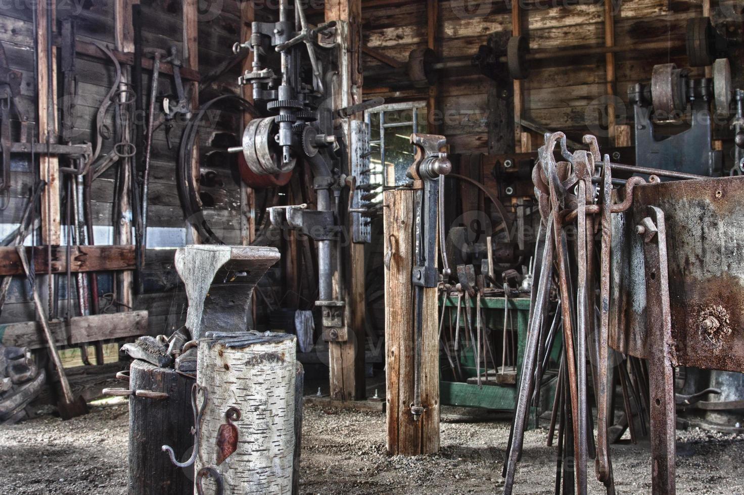 ferramentas de ferreiro foto