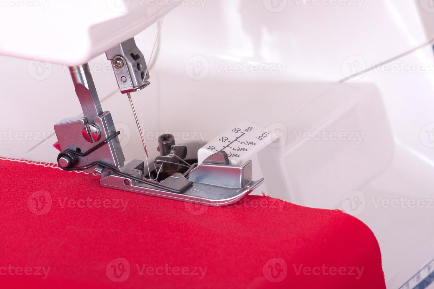 máquina de costura foto