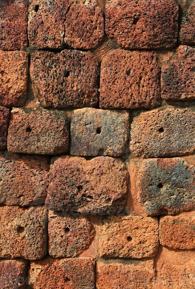 fundo da parede de pedra vintage foto