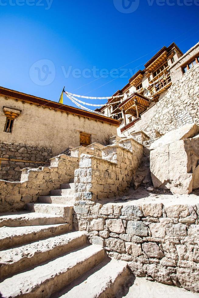 mosteiro, shey, ladakh, índia foto
