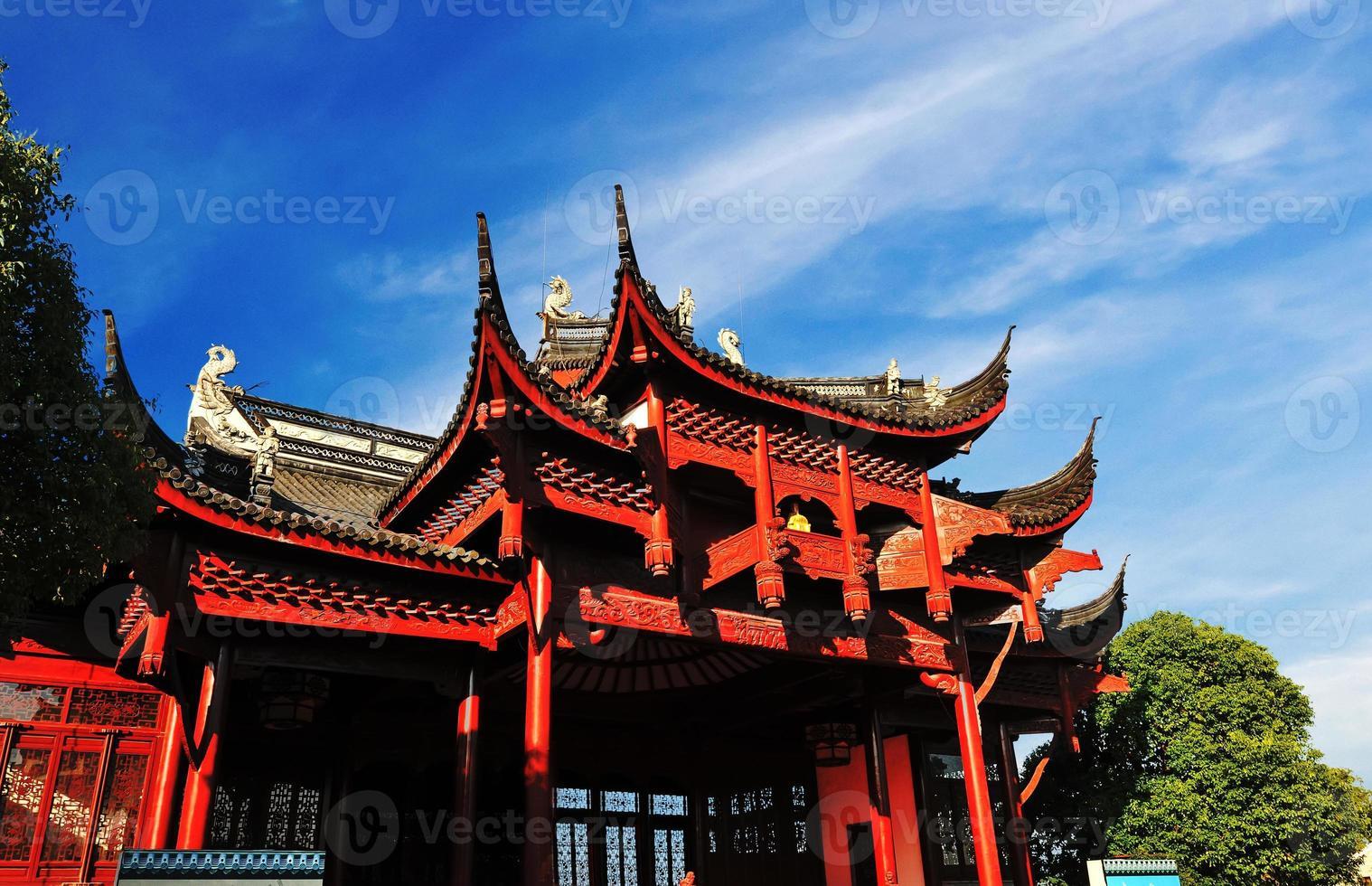 arquitetura histórica da china foto