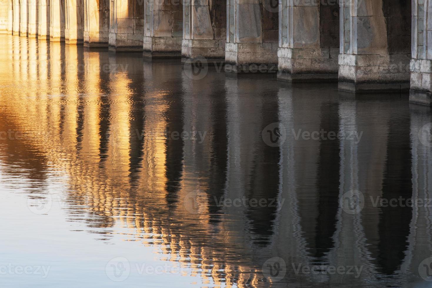 palácio de verão dezessete arco ponte foto