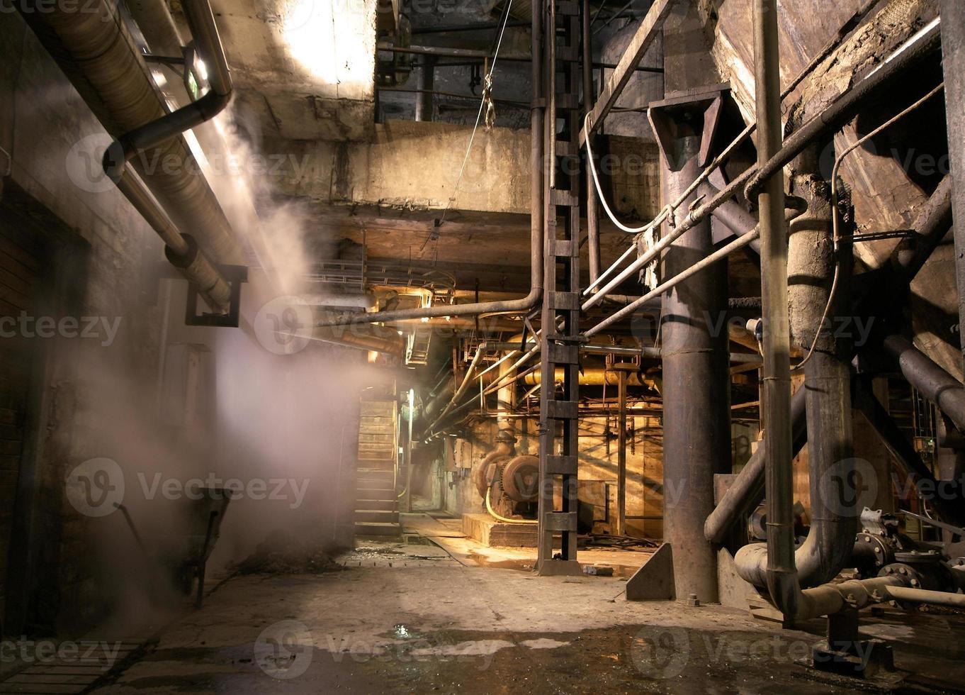 antiga fábrica abandonada foto