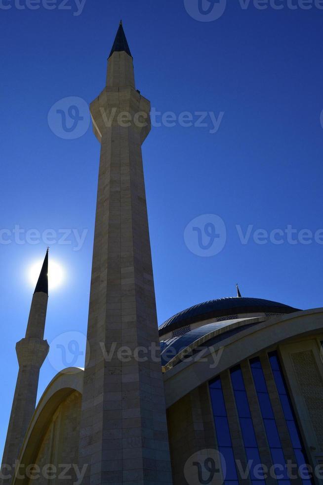 mesquita ahmet hamdi akseki̇, turquia / ancara foto
