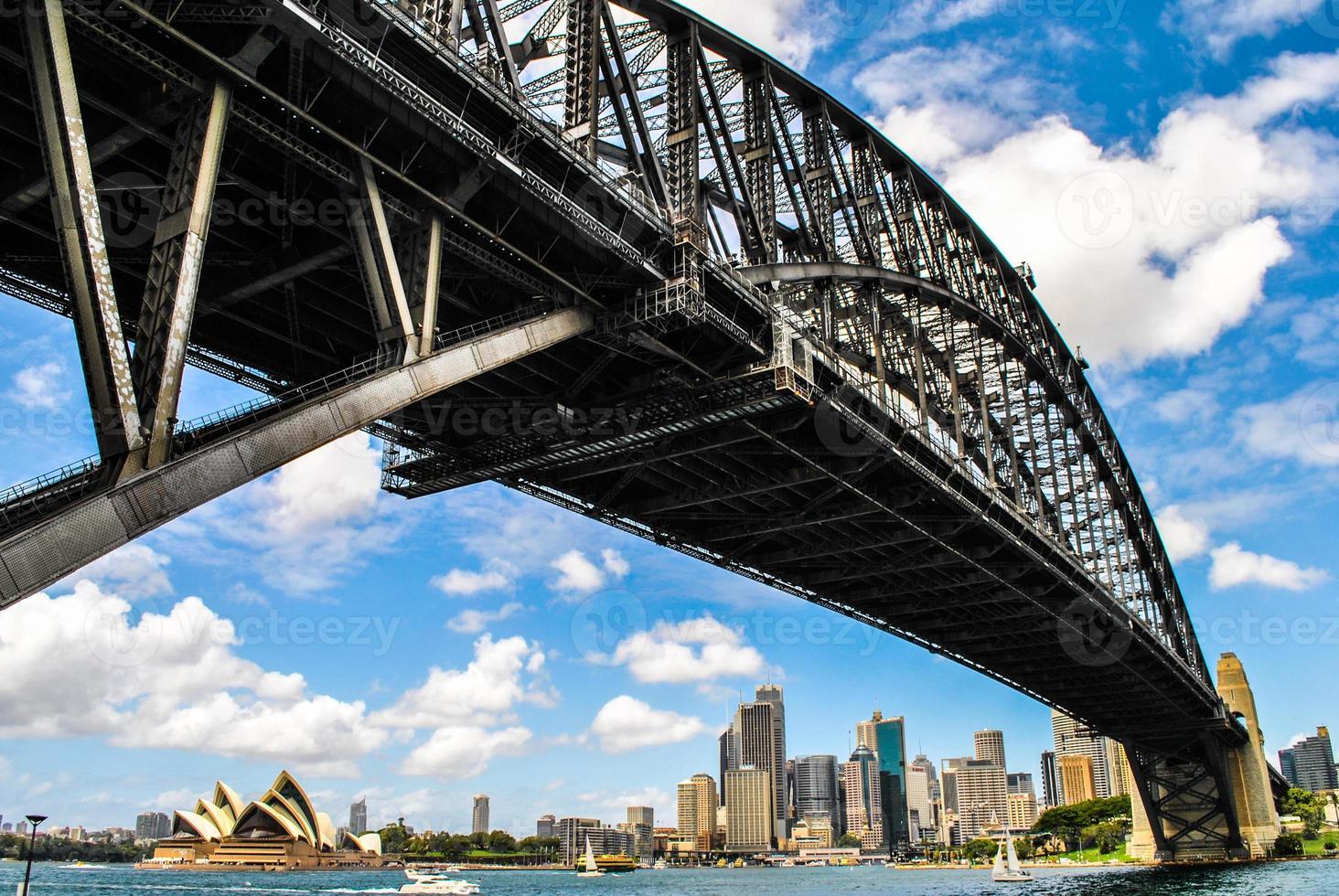 ponte do porto de sydney na austrália foto