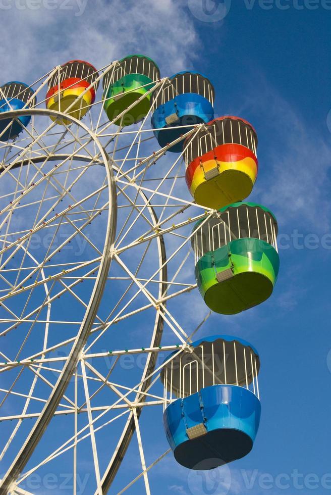 roda gigante colorida foto