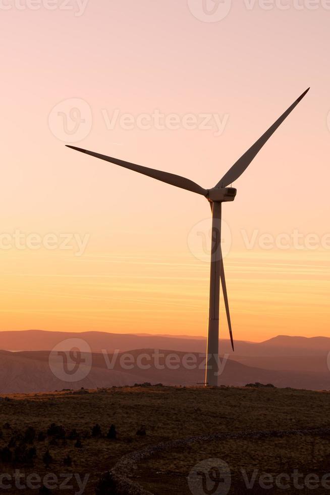 turbinas eólicas na croácia foto