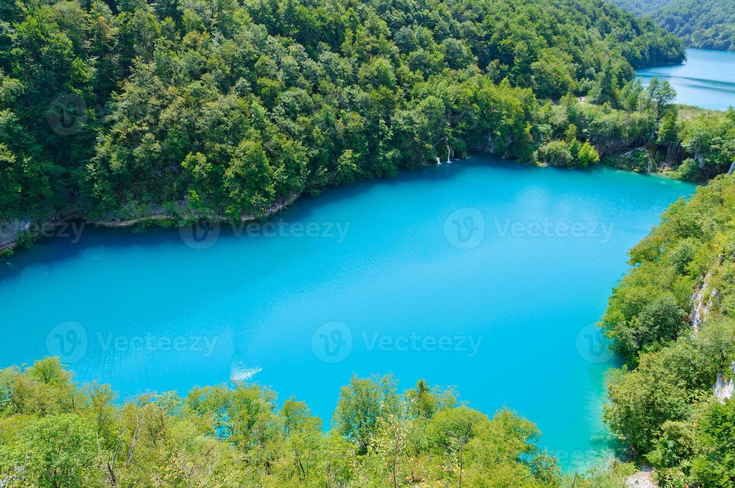 parque nacional dos lagos plitvice, croácia foto