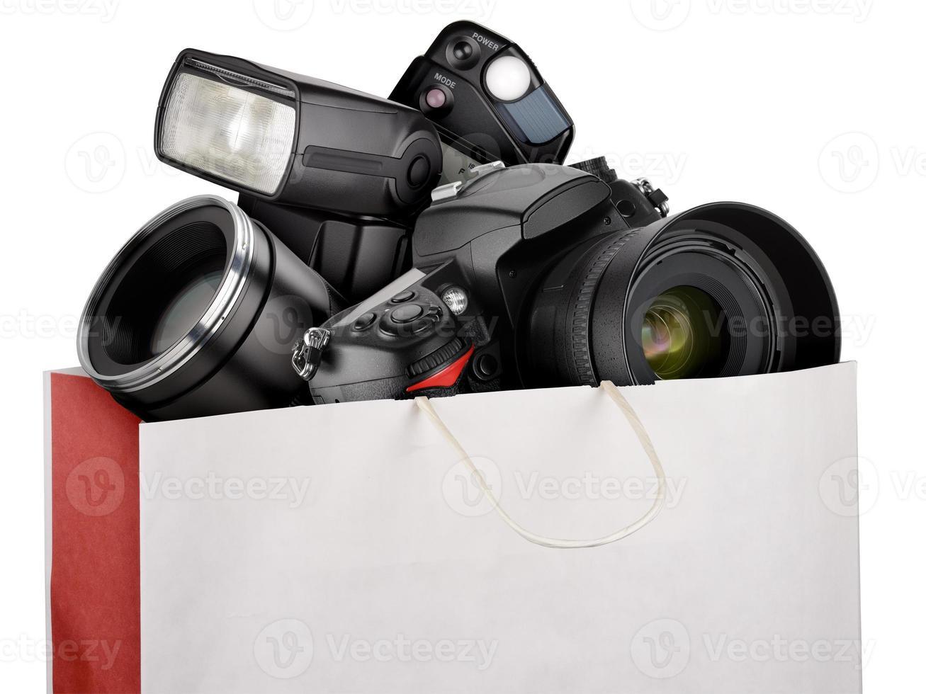 equipamento de fotografia foto
