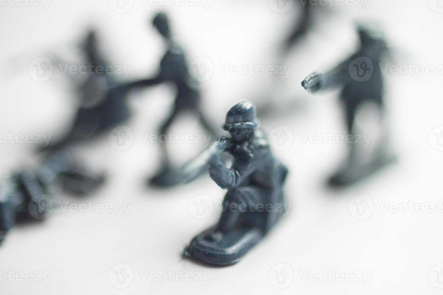 brinquedos do exército foto