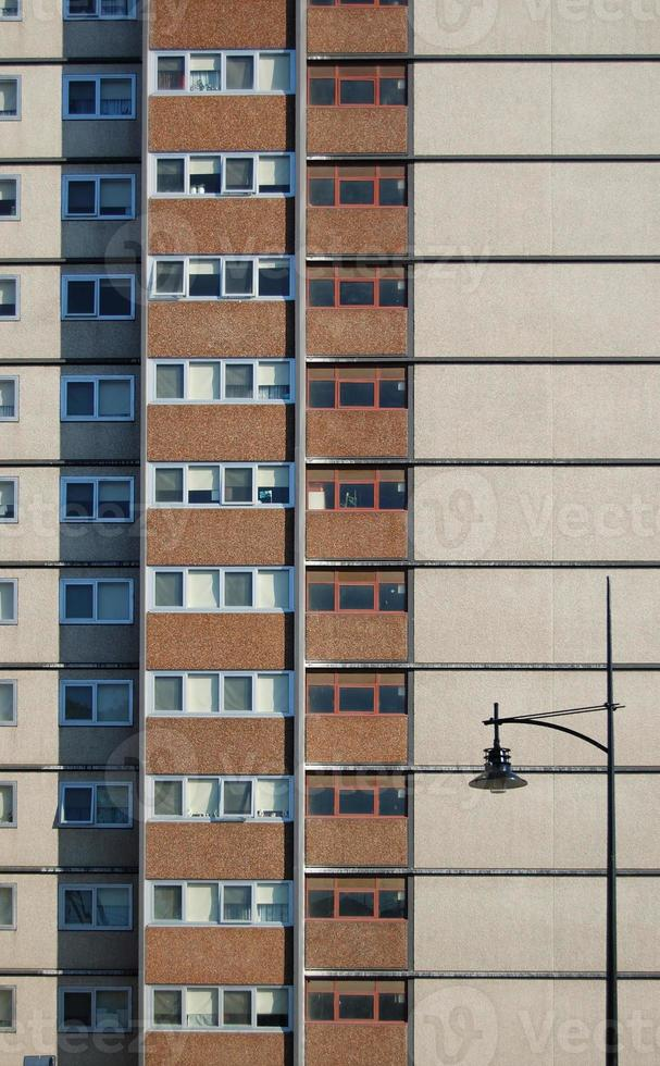 parede do edifício highrise foto