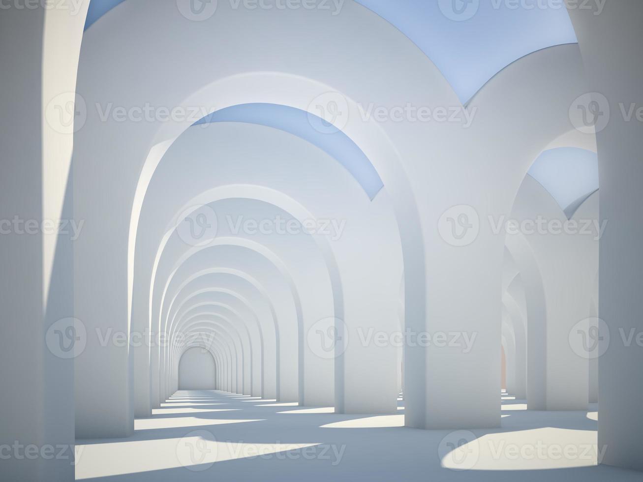 arcos de arquitetura abstrata foto