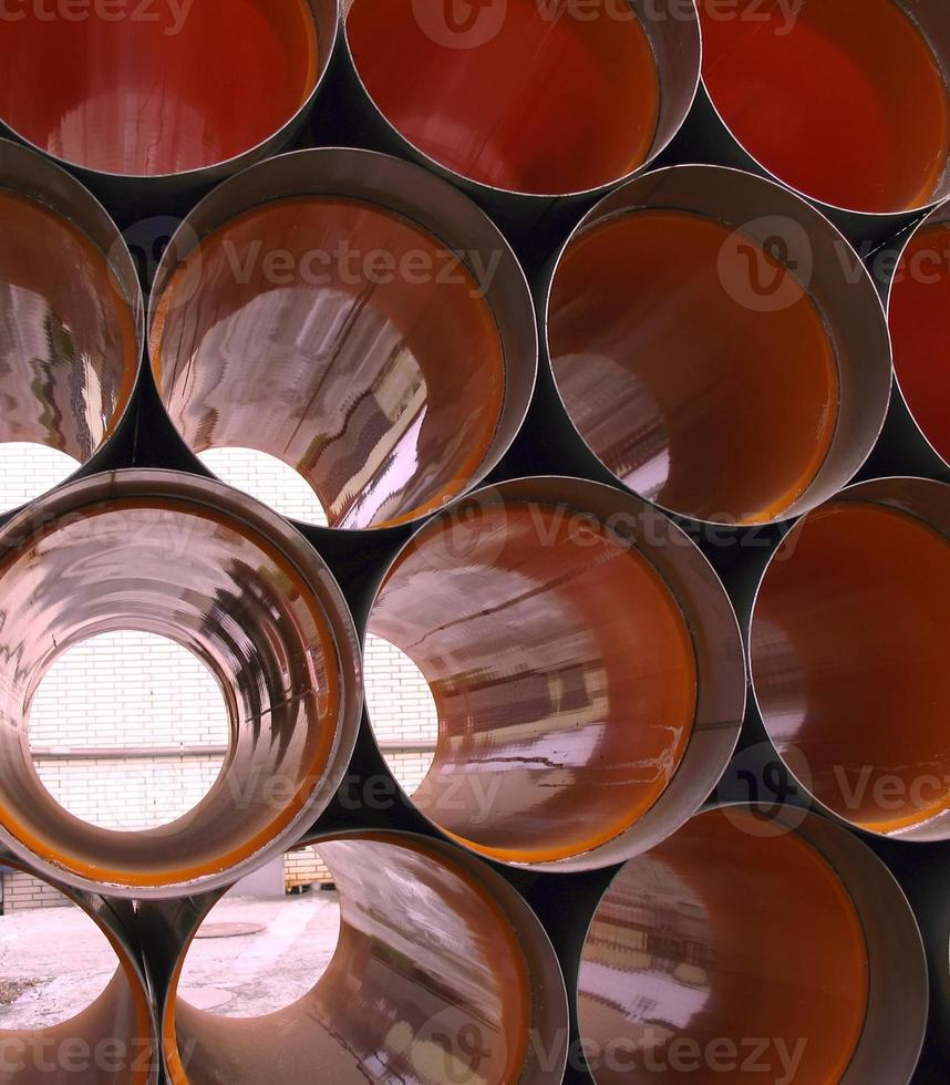 tubos de drenagem foto