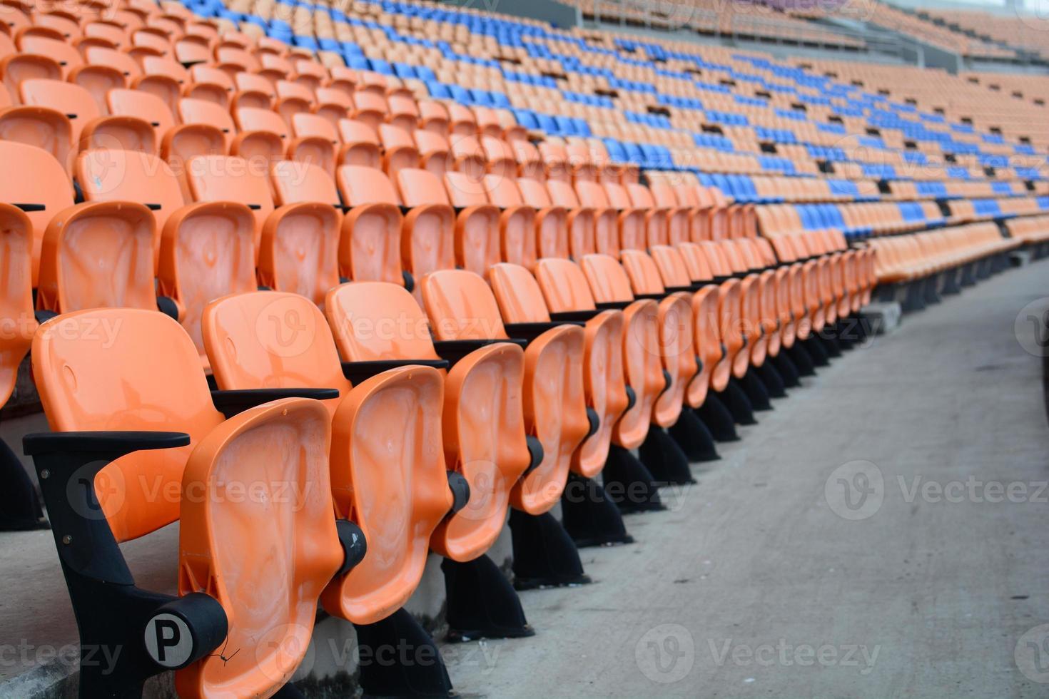 estádio vazio foto