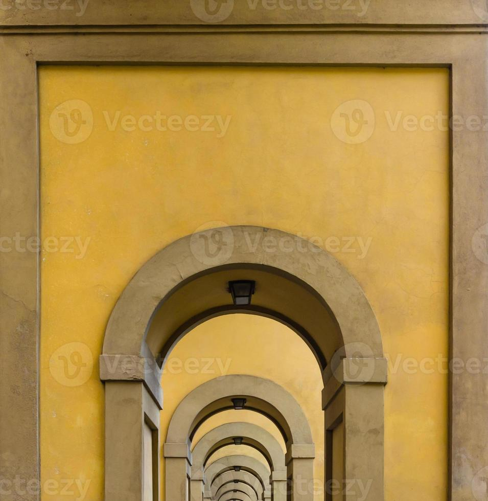 arcos em florença foto