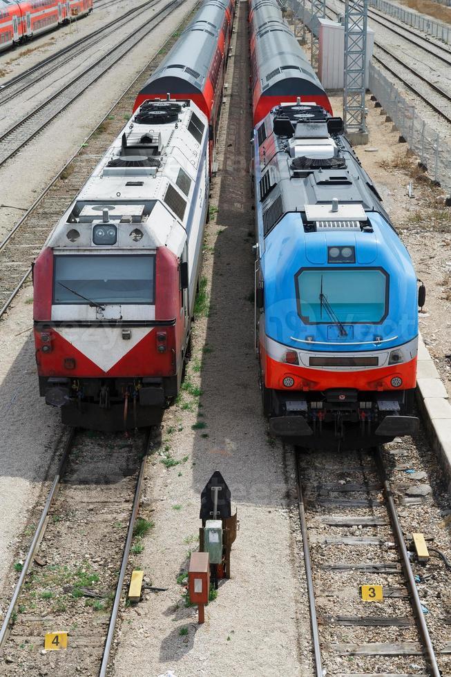 trens ferroviários foto