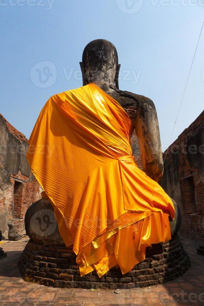 atrás de buddha foto