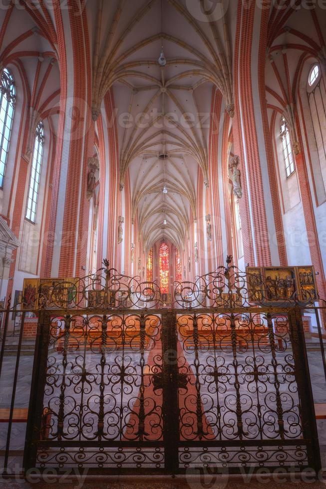 igreja de nossa senhora na areia em wroclaw foto