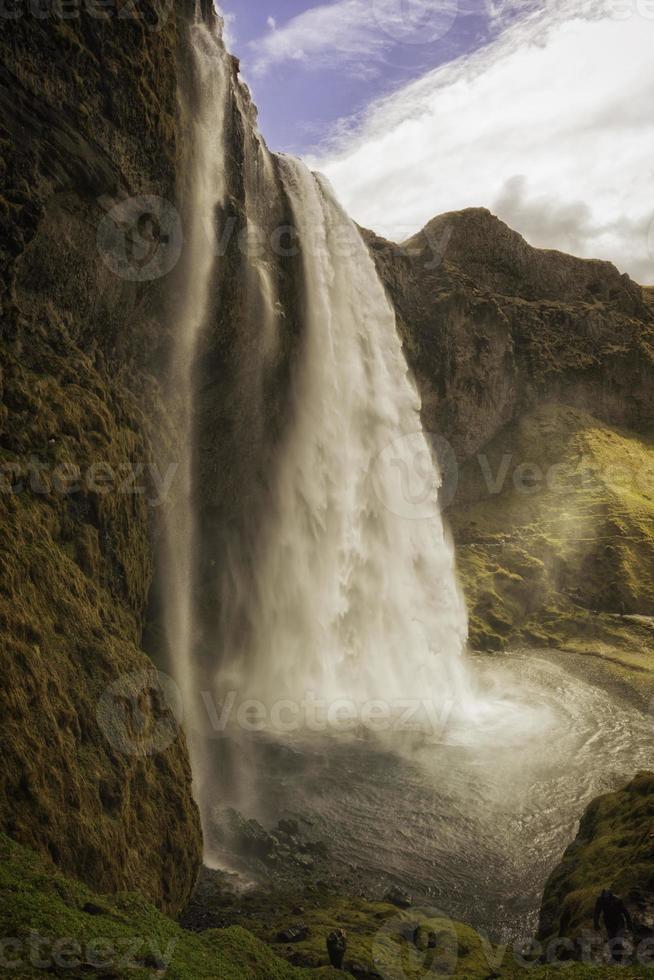 seljalandsfoss cachoeira islândia foto