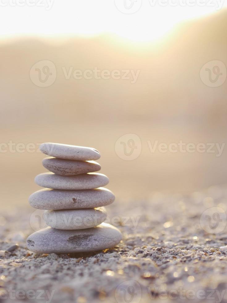pepple balance beach foto