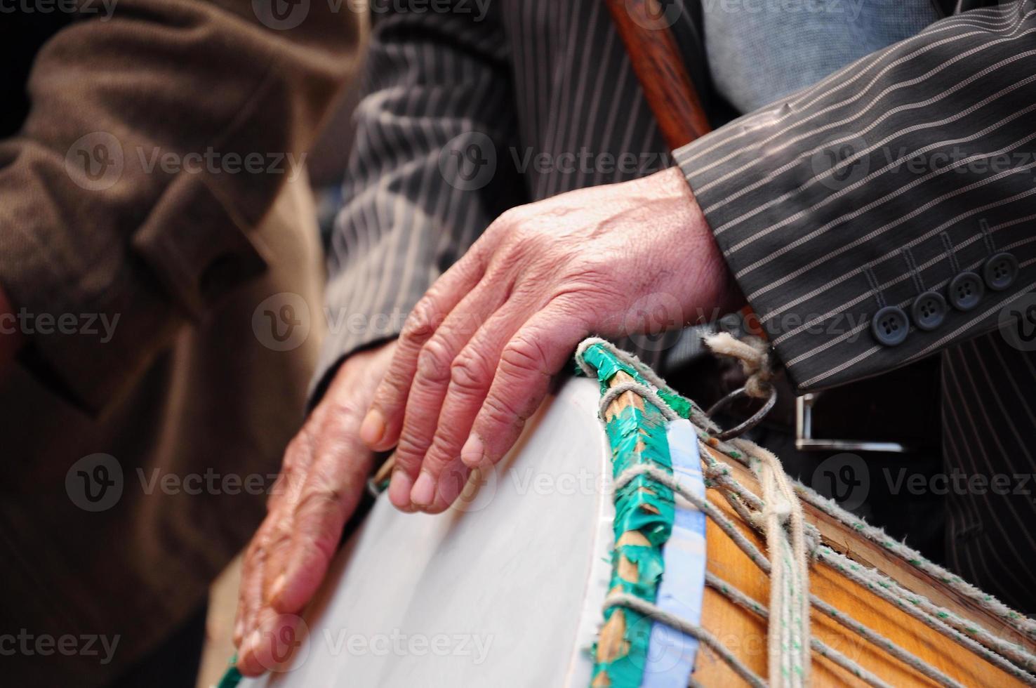 tambor e mão foto