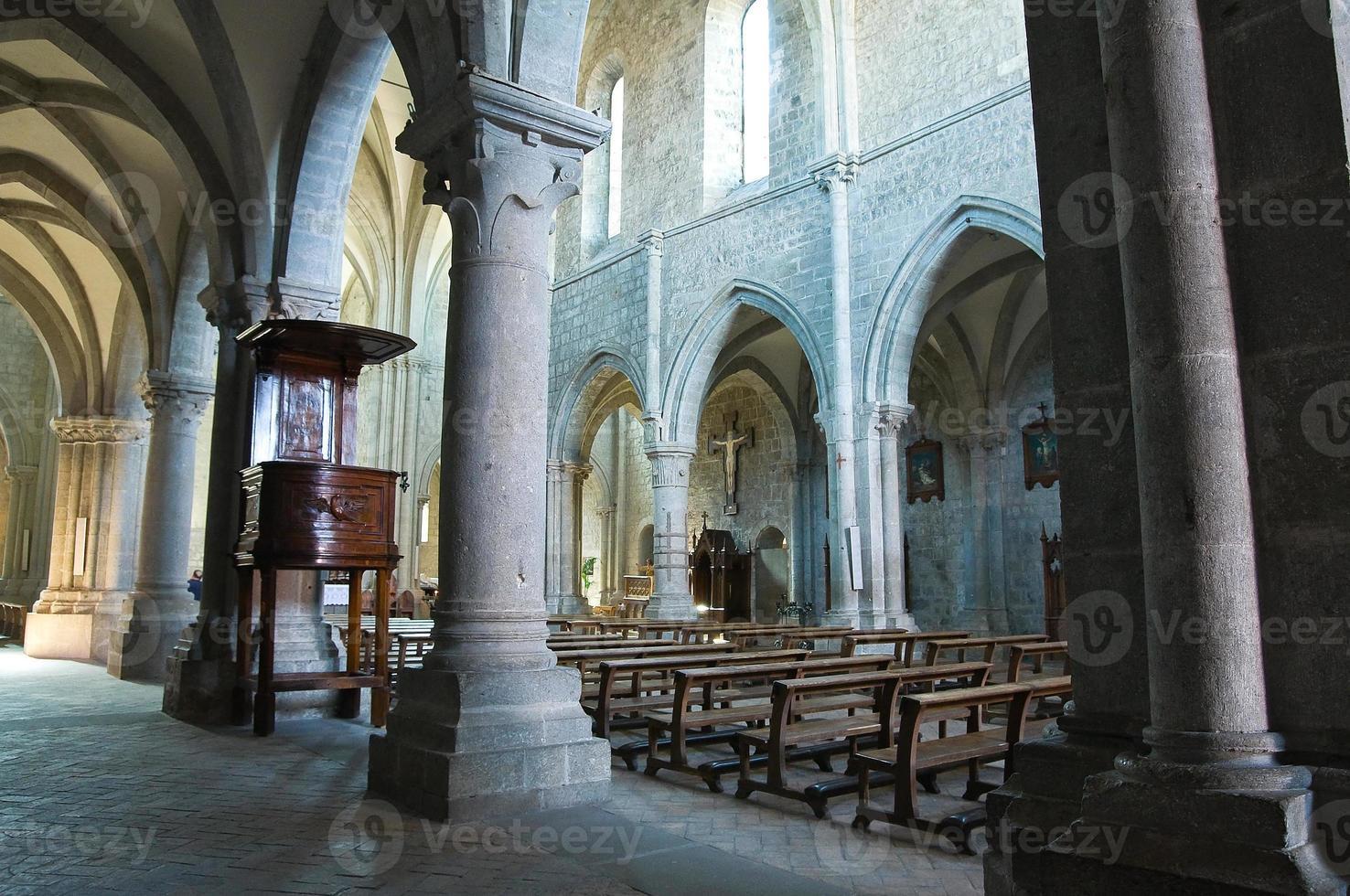 abadia de san martino al cimino. Lazio. Itália. foto
