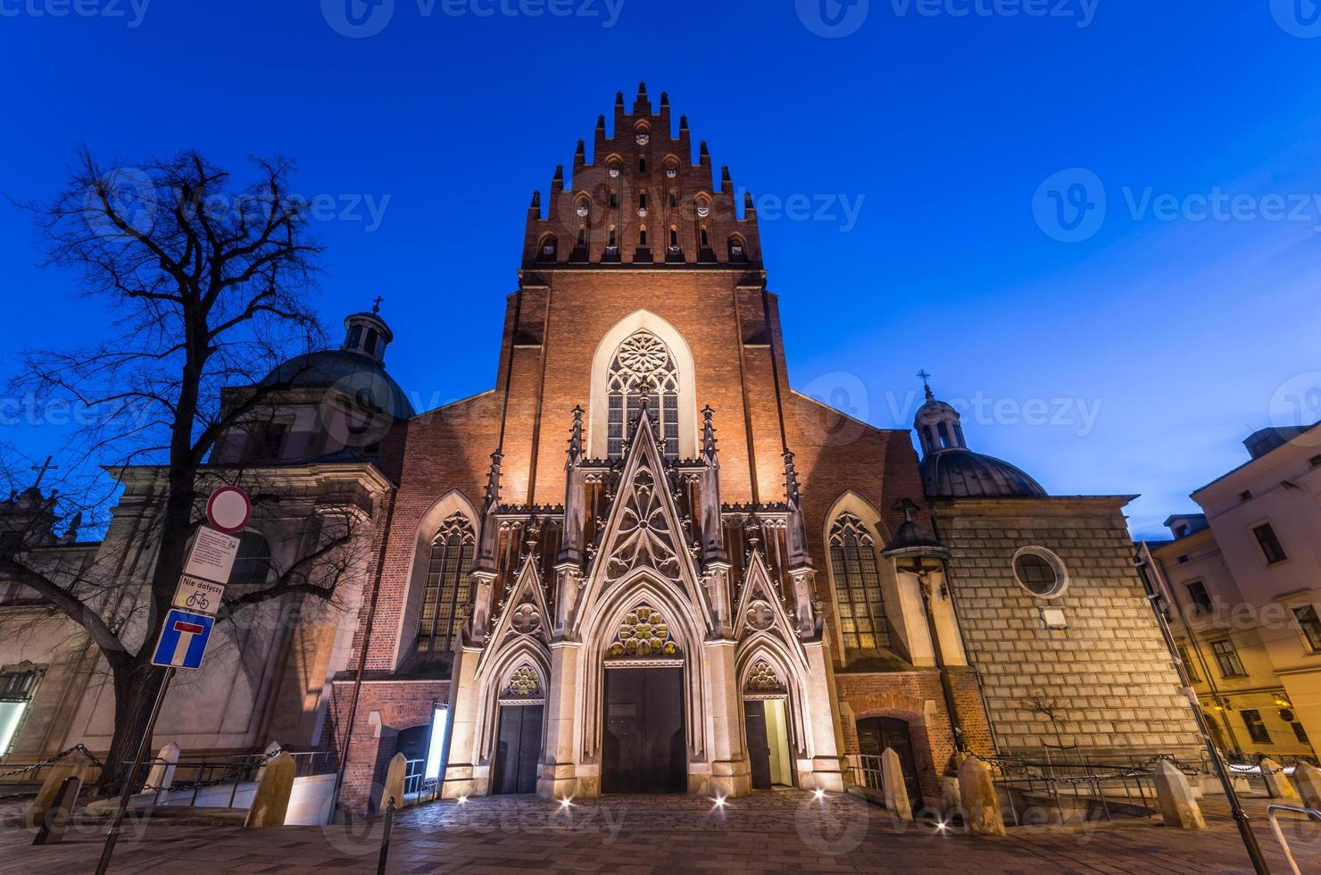 Igreja da Santíssima Trindade em Cracóvia foto