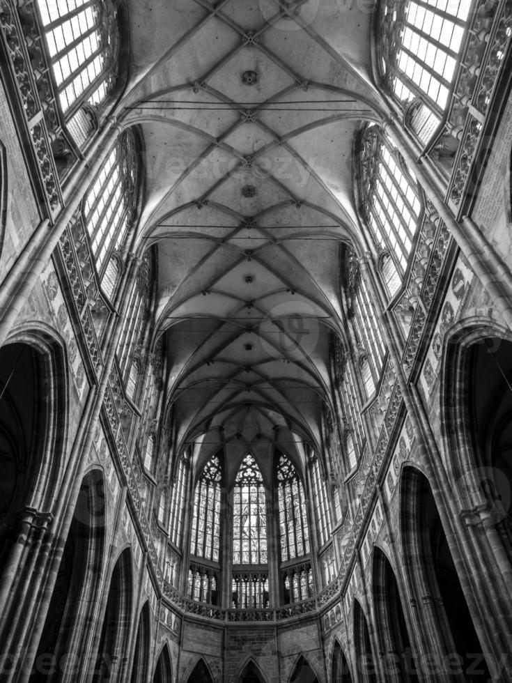 teto da catedral de são vito foto