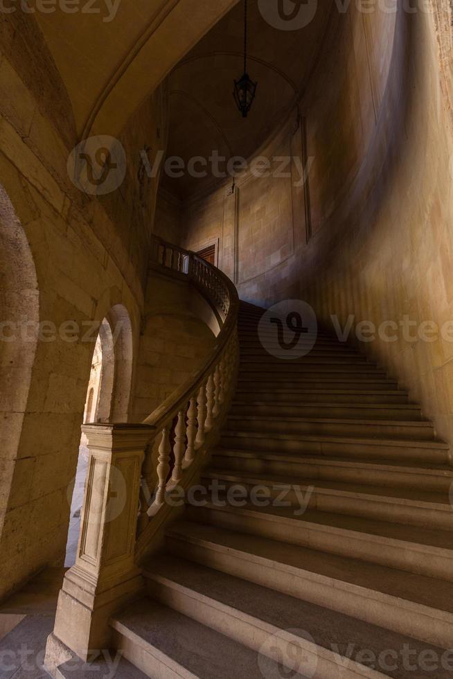 alhambra, granada, espanha. foto