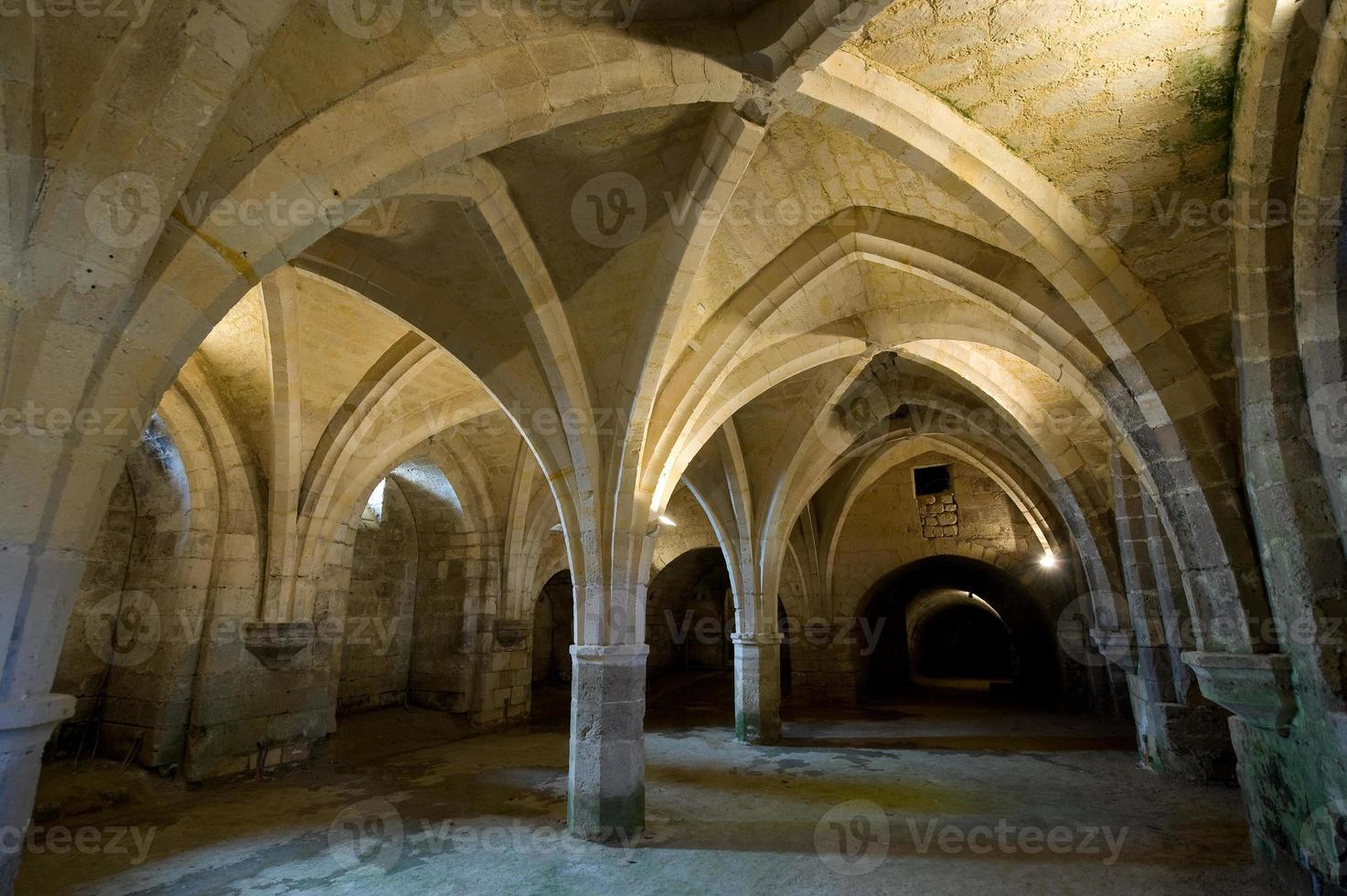 abadia de st-jean-des vignes em soissons (picardia, frança) foto