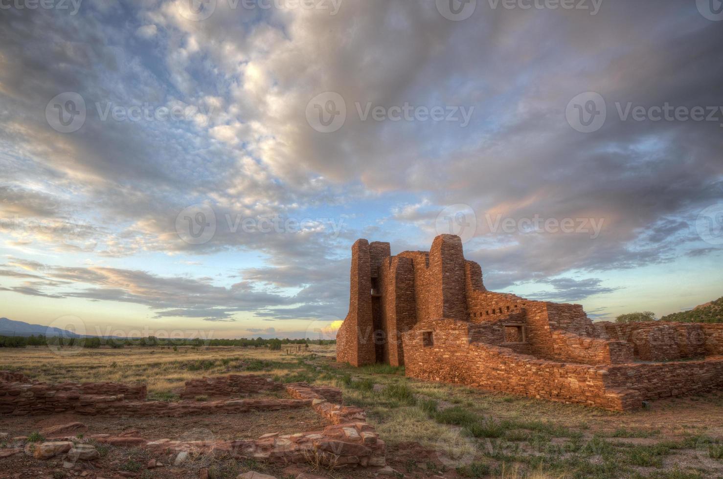 ruínas da missão foto