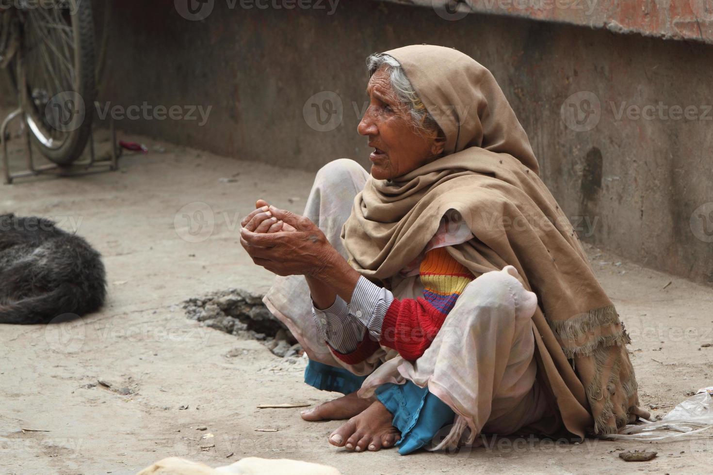 armut in indien foto