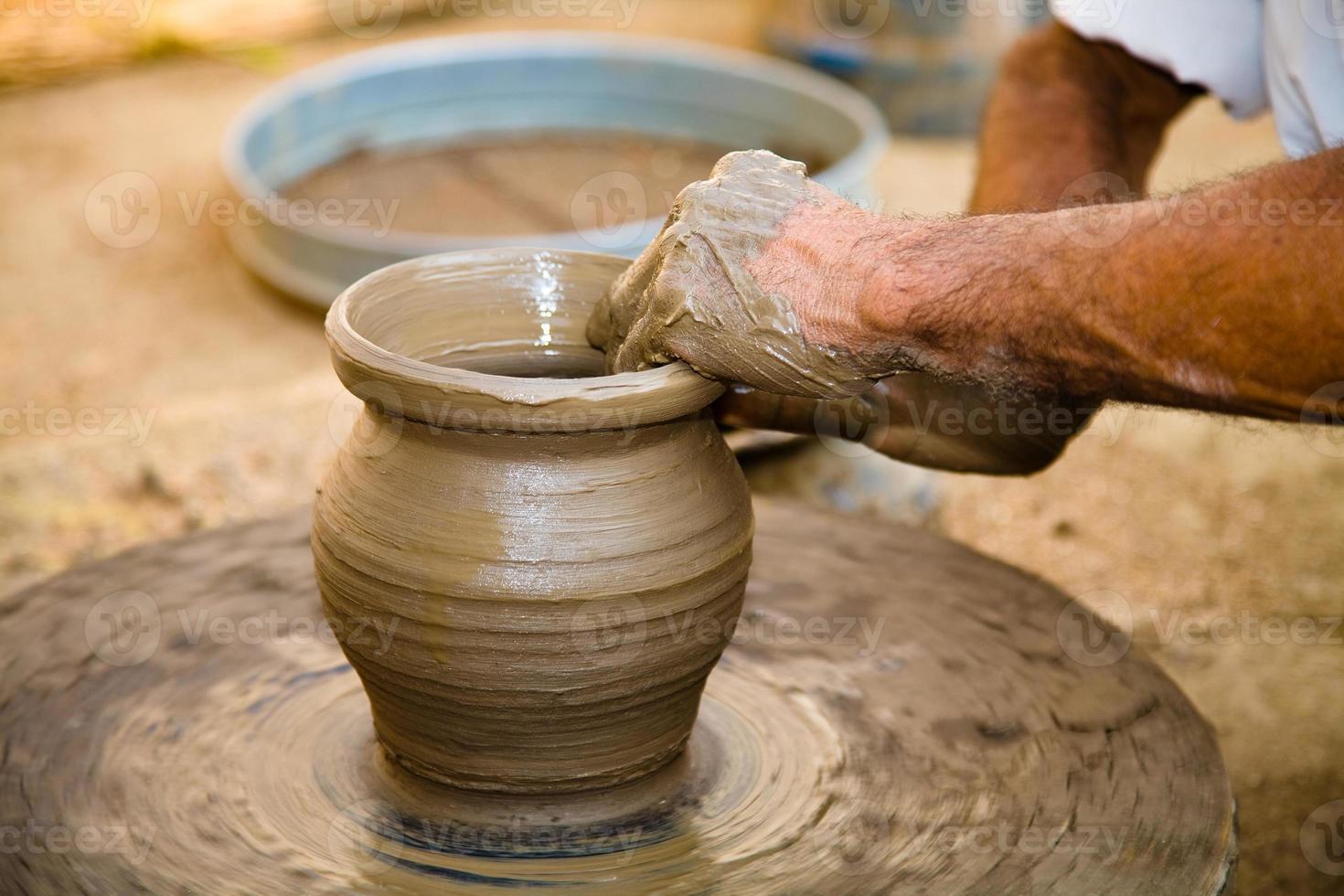cerâmica, Rajastão, indiano foto