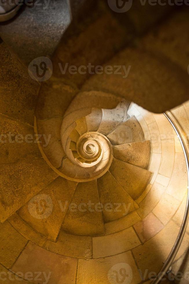 escada em pedra foto
