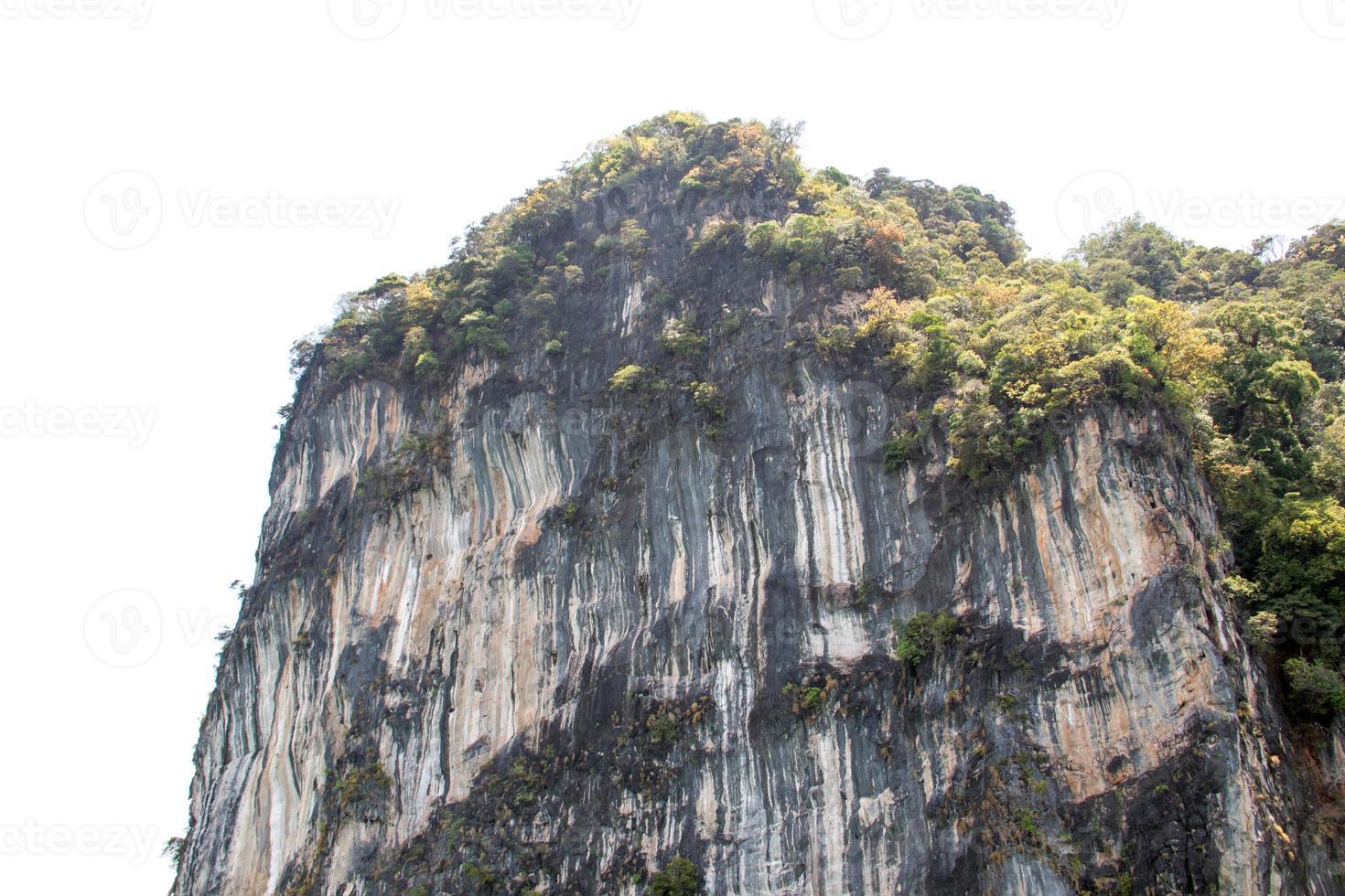 imagem da paisagem ilha vista da Tailândia província de phuket foto