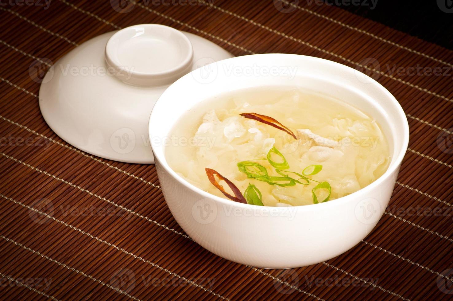 sopa de arroz foto