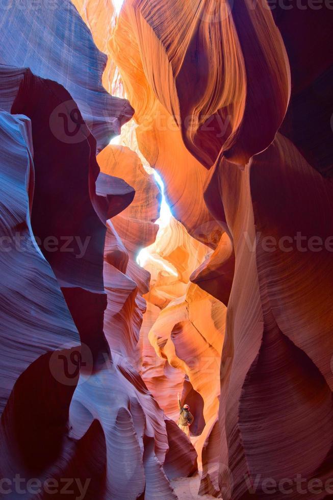desfiladeiro do antílope do arizona foto