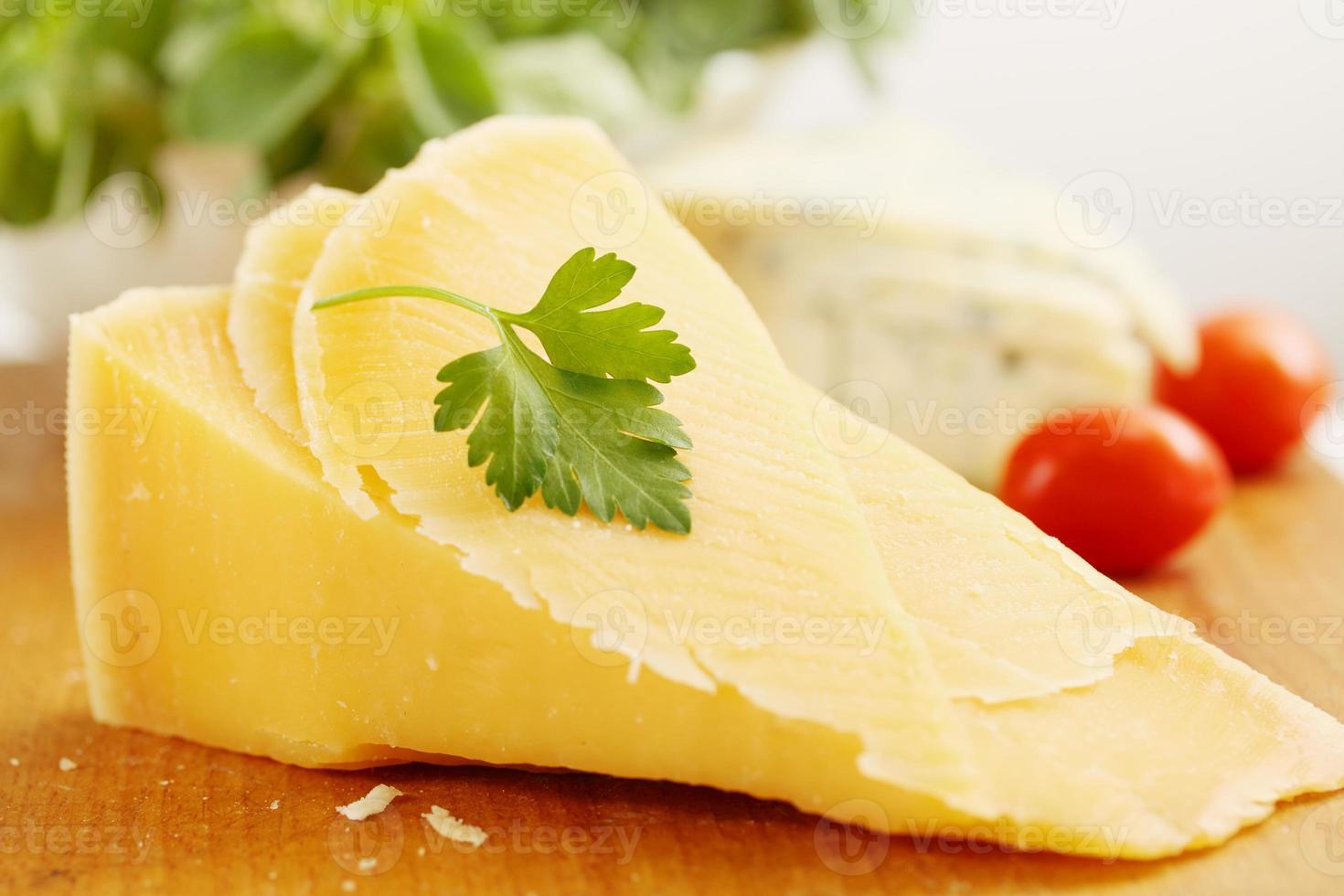 queijo parmesão com tomate foto