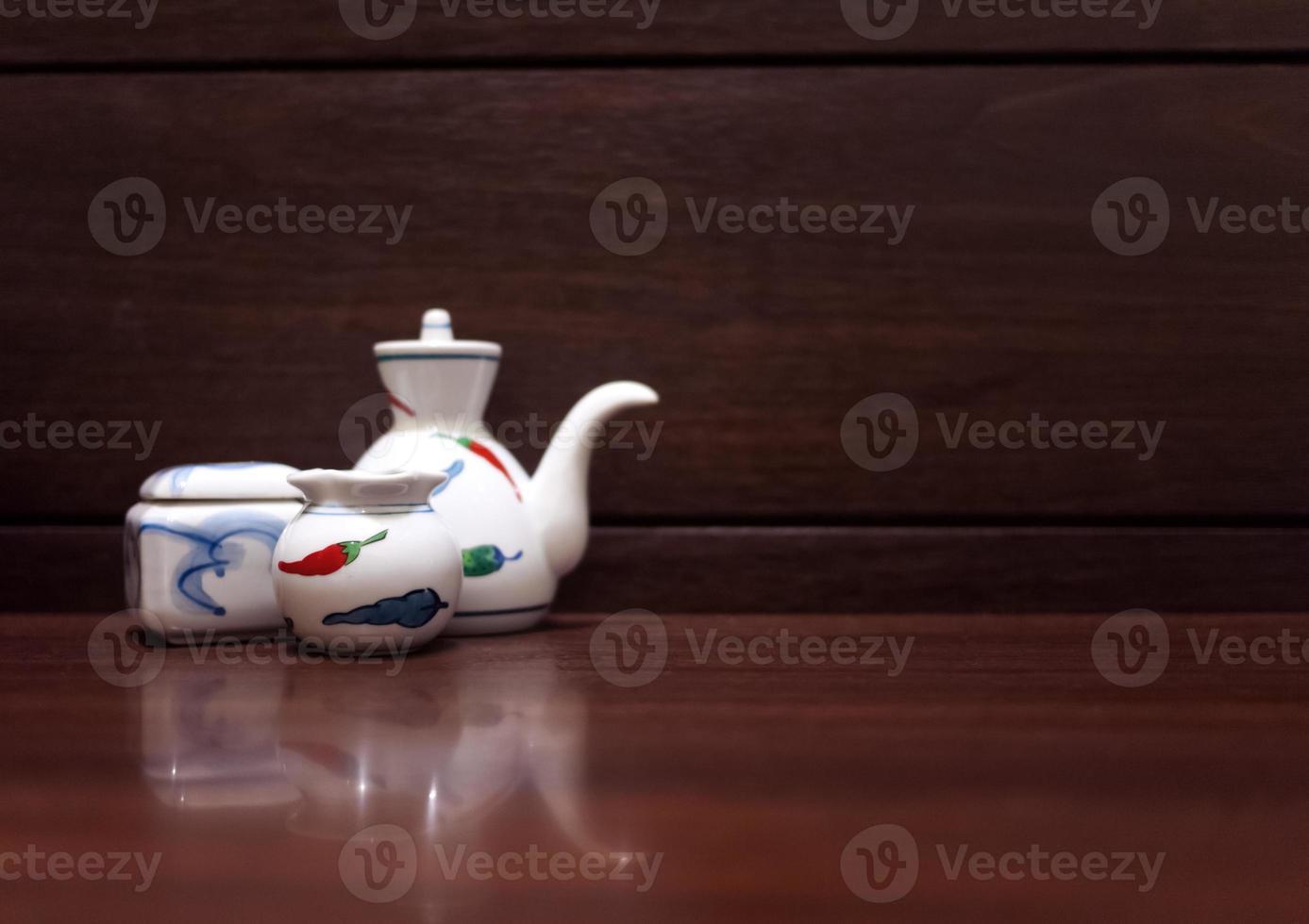 xícara de shoyu foto