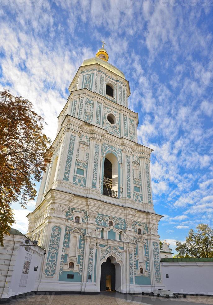 Catedral de Santa Sofia e céu dramático foto
