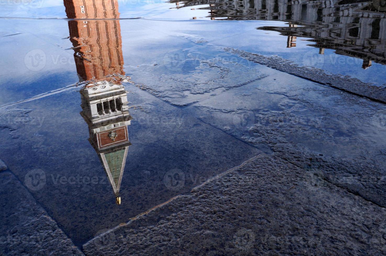 campanile di san marco na piazza san marco, veneza foto