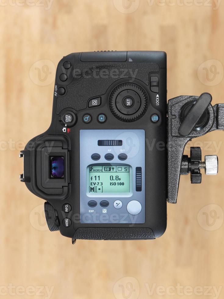 câmera digital slr foto