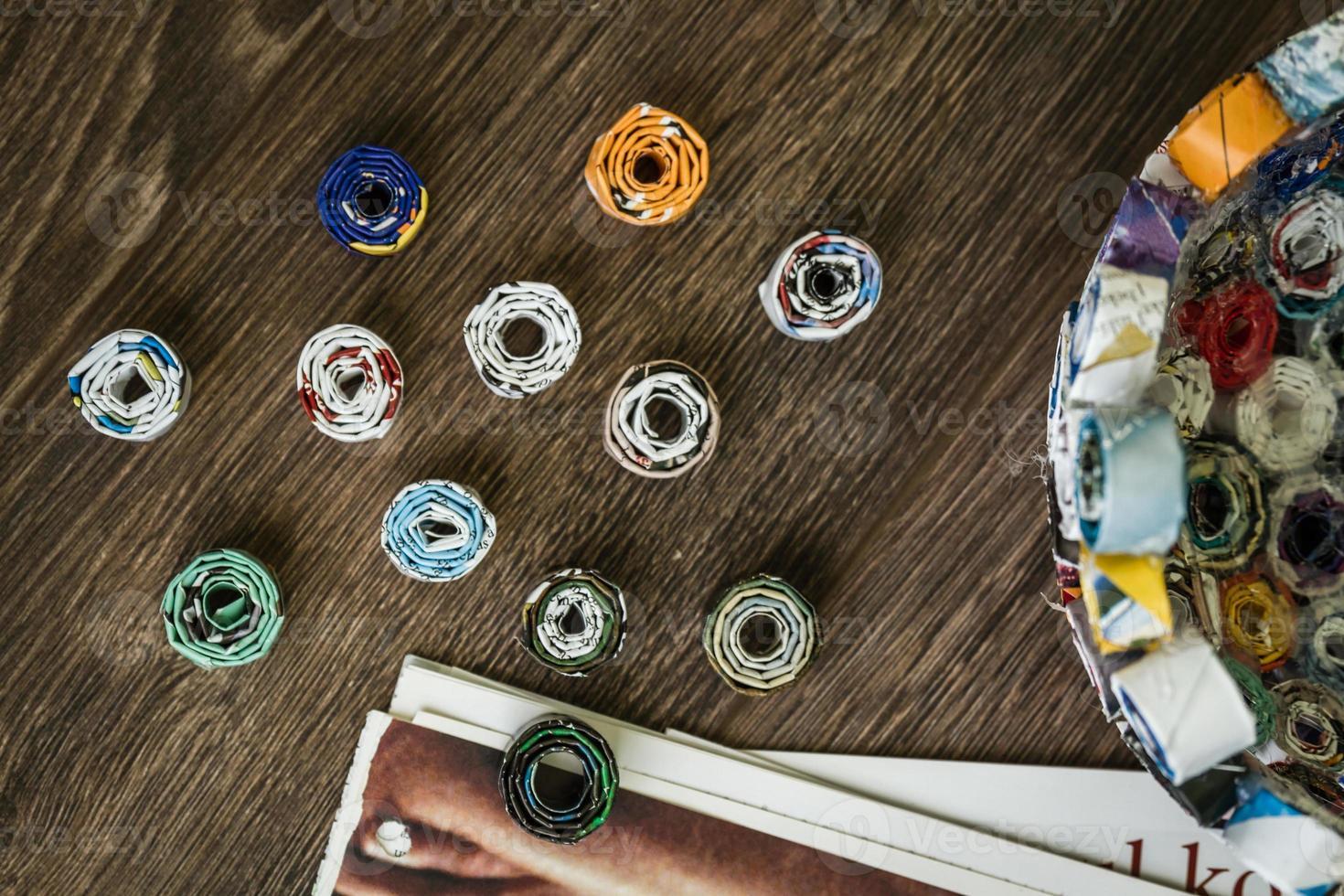 projeto faça você mesmo da revista de resíduos foto